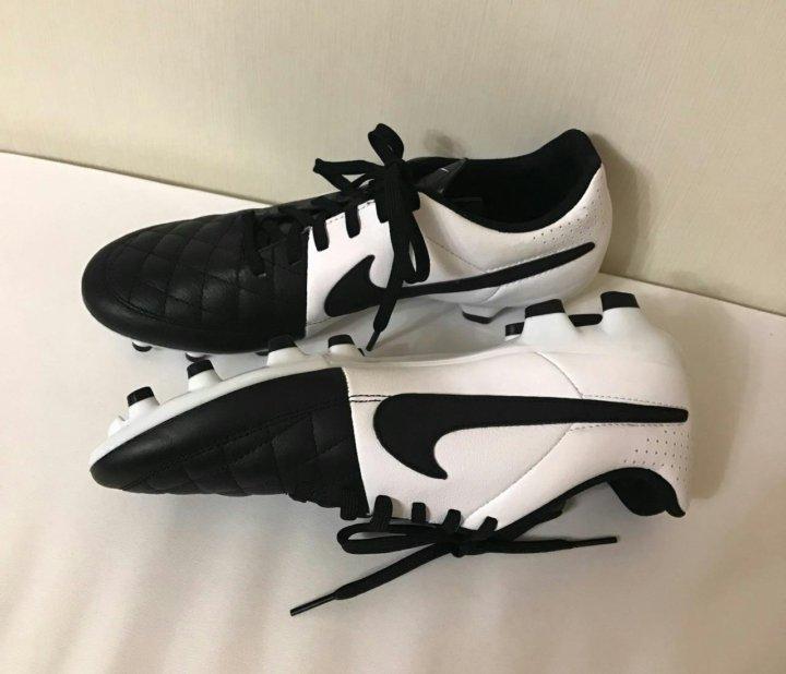 dda18a7b новые бутсы Nike из натуральной кожи оригинал – купить в Краснодаре ...