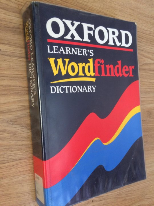 Oxford Learner''''s Wordfinder Dictionary