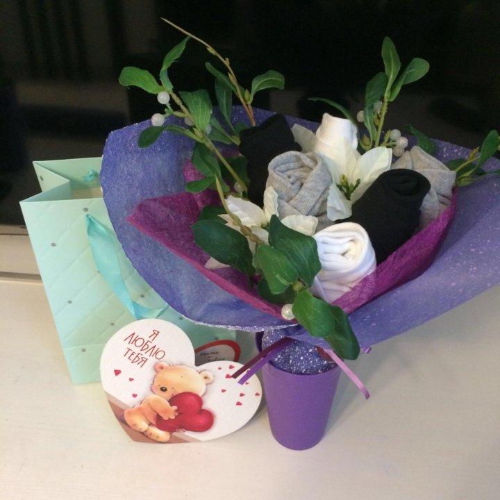 Розы букеты из трусов и носков букетов приморском районе