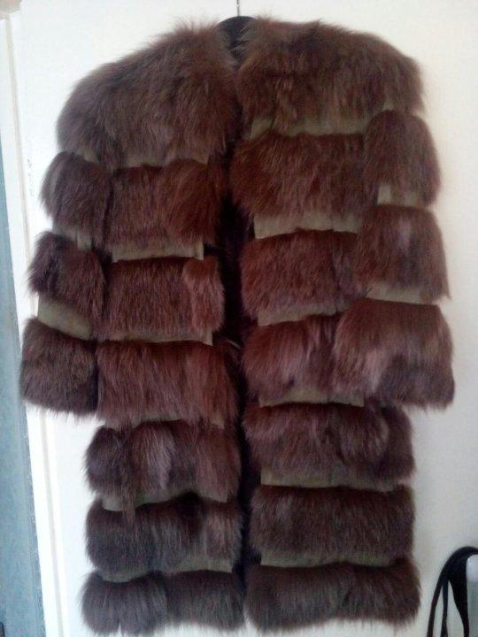 Продам шубу из кролика под писца – купить в Омске, цена 9 000 руб ... 4f9d3c991b7