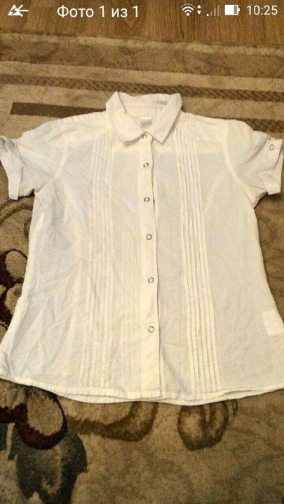 8bddfeafe6c Рубашка белая на девочку 146 см – купить в Санкт-Петербурге