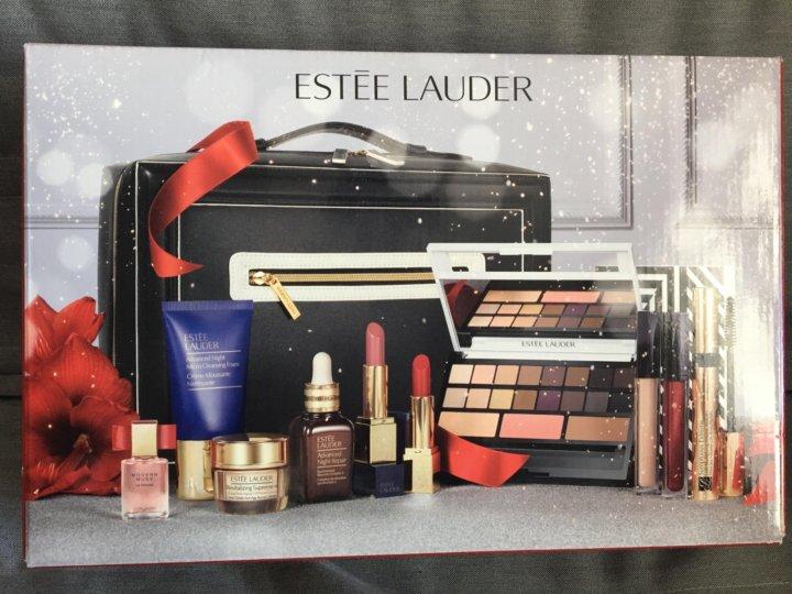 Estee lauder набор декоративной косметики в сумке купить купить косметику чистая линия оптом