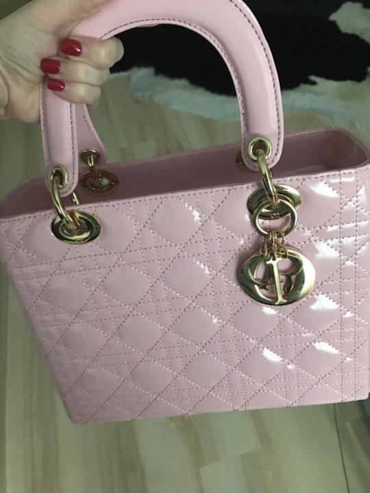e8e9d86ba0c9 Сумка Lady Dior (копия 1:1 AA+) – купить в Воронеже, цена 6 500 руб ...