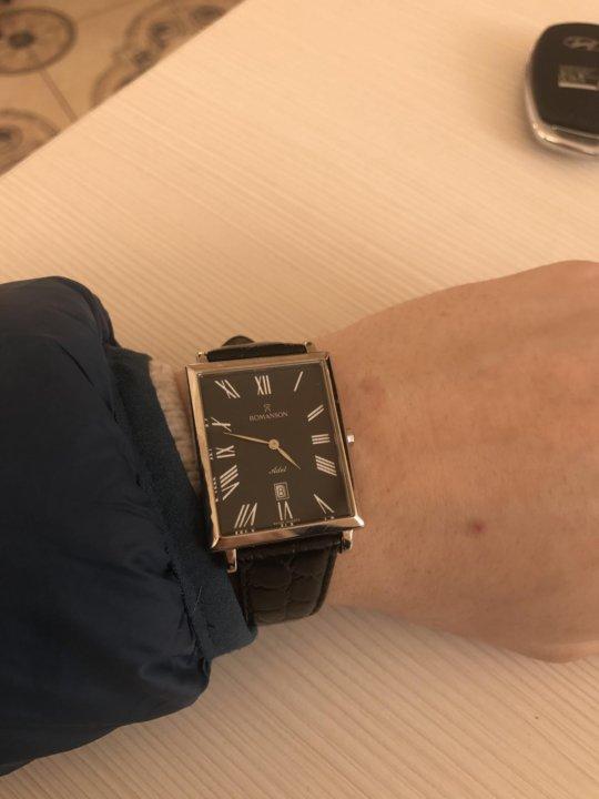 Купить часы романсон в саратове престижные бренды наручных часов