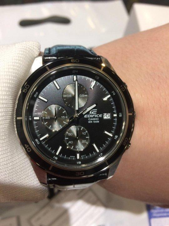 Часы Casio Edifice EFR-526l-1A – купить в Красноярске, цена 7 290 ... d1f76bd1b65