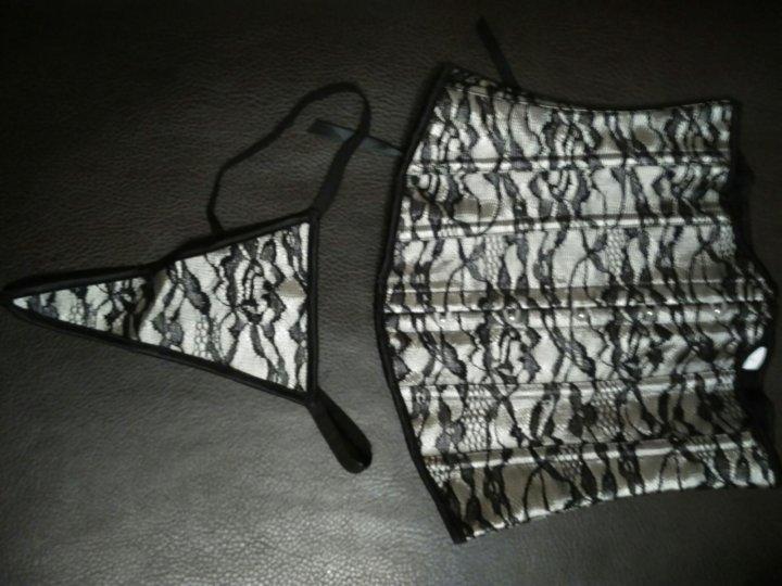Новый кружевной корсет +стринги – купить в Балашихе 30d1356ce955c