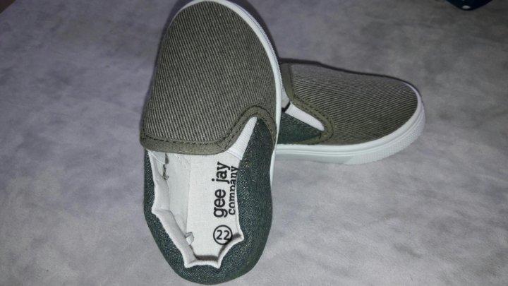 Детские слипоны – купить в Томске, цена 150 руб., продано 10 мая – Обувь cfbe3bc6da9