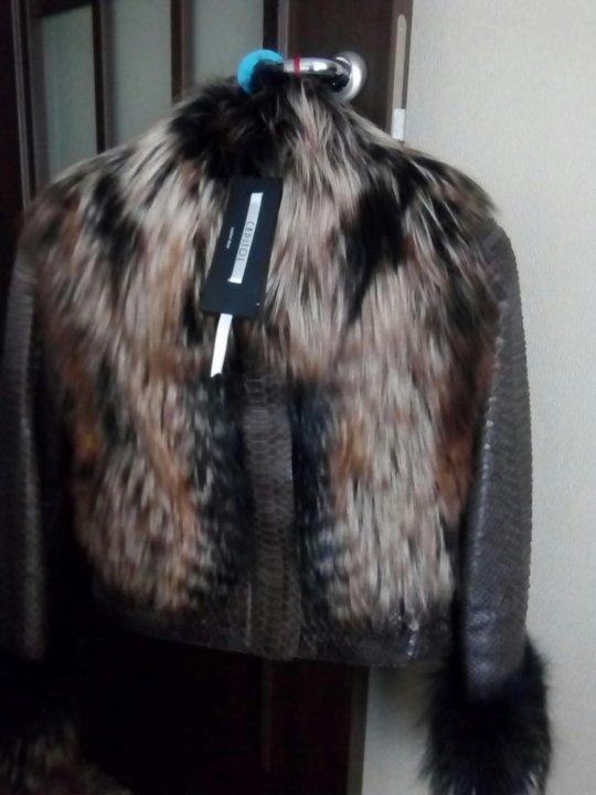 34c0688a985 Балашиха. Натуральная куртка-пальто питон. Фото 2. Балашиха.