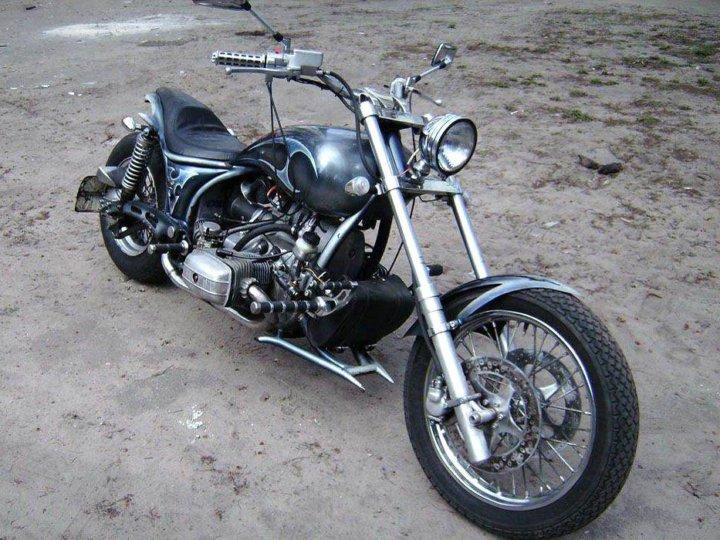 часть проблем тюнинг мотоцикла урал своими руками фото реально заинтересовался