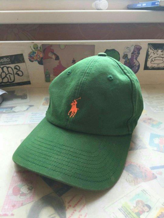 4a8e17628ca3 Кепка бейсболка Ralph Lauren зелёная оригинал – купить в Москве ...