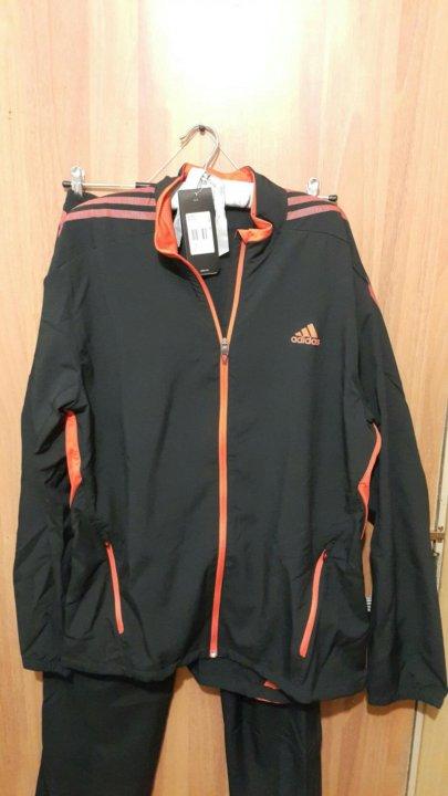 56111a3d Adidas Спортивный костюм мужской 52-54 (L) – купить в Москве, цена 5 ...