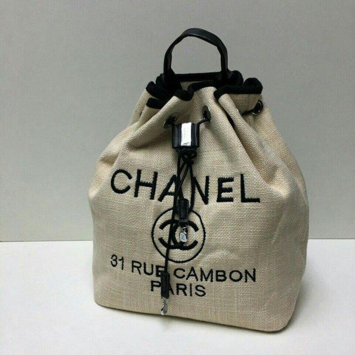 8f93d8d1cb2c Рюкзак Chanel, ткань+канва – купить в Санкт-Петербурге, цена 4 190 ...