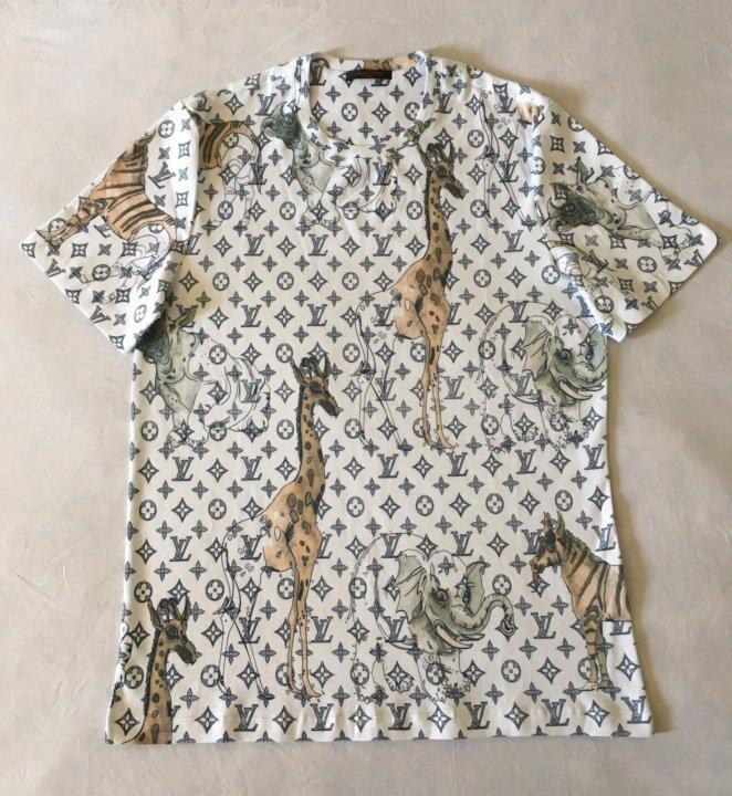 Новая футболка Louis Vuitton оригинал – купить в Санкт-Петербурге ... 5850c3528db