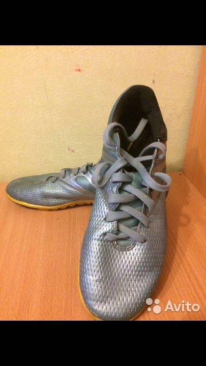 98dc4946 Бутсы сороконожки adidas messi 15.3. 43 размер. Фото 1. Санкт-Петербург. ...