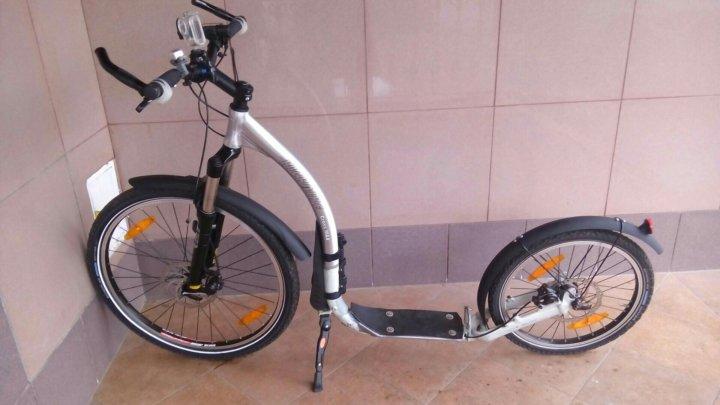 Самокат (футбайк) Kickbike Cross Max 20D+  – купить в