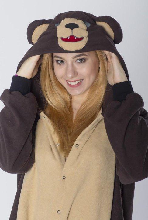 Пижама кигуруми Медведь Бурый Колян – купить в Москве 66136bc0940f5
