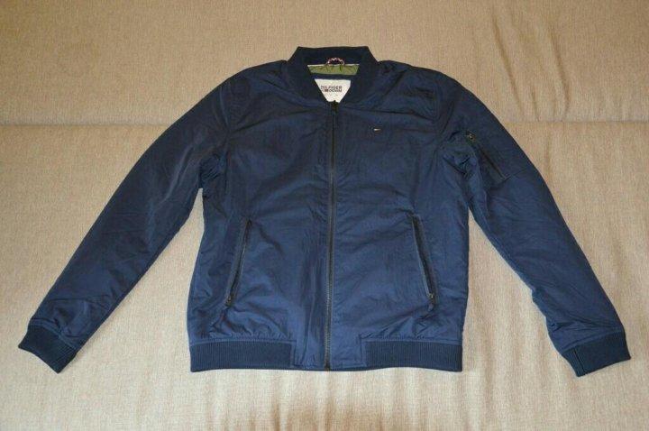 f47d4b9787a5 Легкая куртка-бомбер Tommy Hilfiger новая оригинал – купить в Москве ...