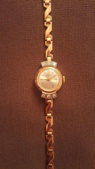 Часы заря золотые женские стоимость советские стоимость megir часы