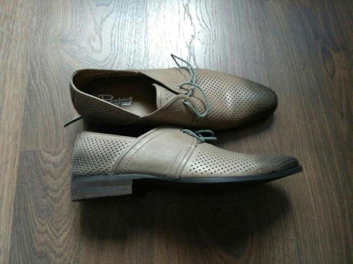c24d81f1a ⚜ Кожаные мужские туфли ( новые ) – купить в Москве, цена 2 900 ...