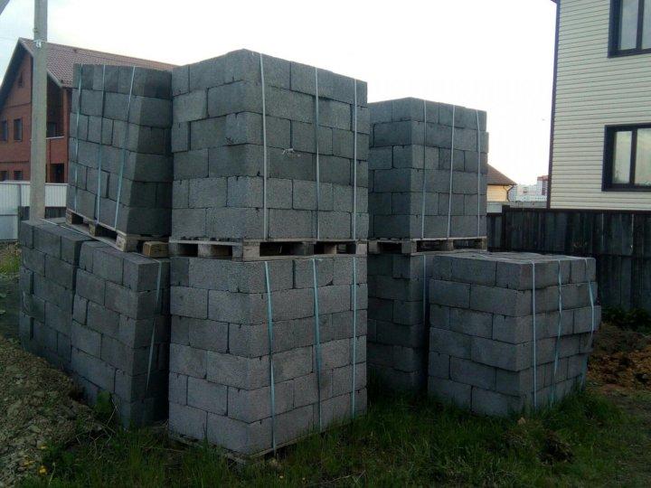 сколько стоит куб шлакоблока