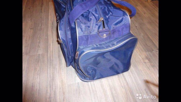 b8b2307a0007 Сумка спортивная, дорожная синяя – купить в Москве, цена 790 руб ...
