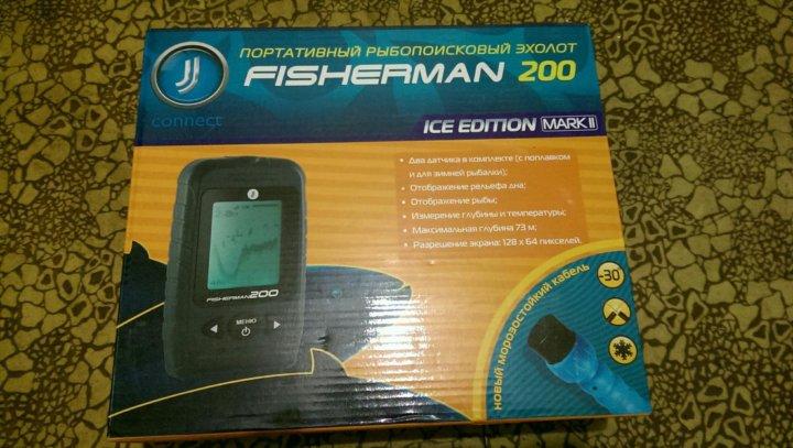 Эхолот jj-connect fisherman 200 ice edition купить по выгодной.
