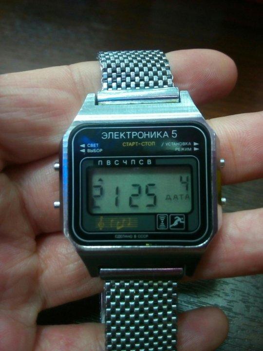 5 продать ссср электроника часы наручные бу ника продам часы