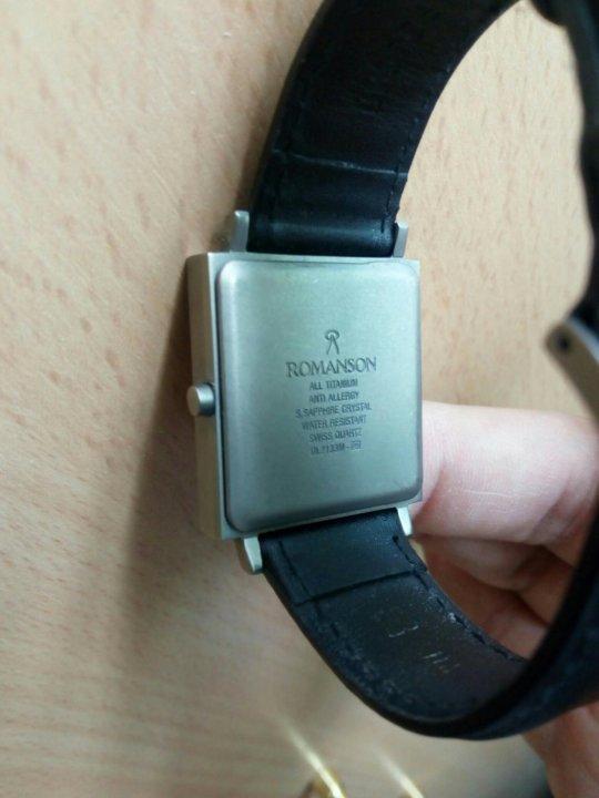 Часы романсон купить омск какие бывают формы наручных часов