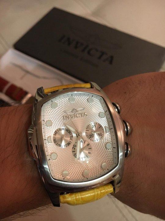 6b5d48f05a66 Часы швейцарские INVICTA Limited Edition – купить в Челябинске, цена ...