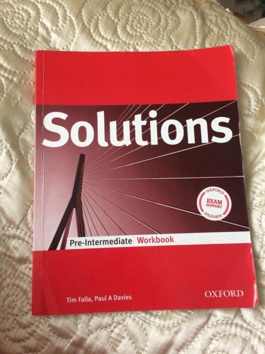 Solutions pre-intermediate workbook 8 класс ответы