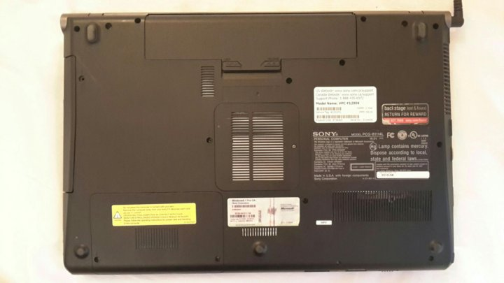Sony Vaio VPCF1290X Notebook Drivers for Mac