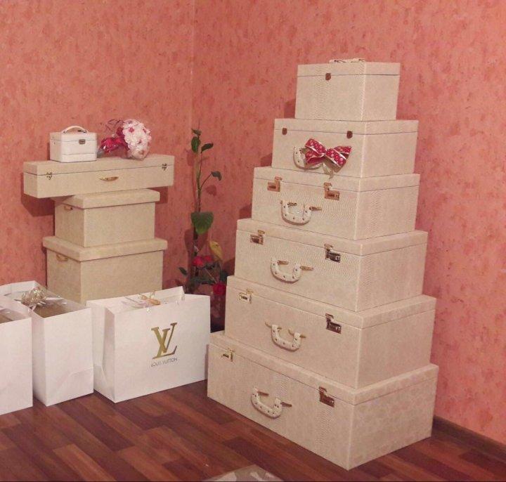 Свадебные чемоданы – купить в Грозном, цена 15 000 руб., продано 10 ... dc882b307f3