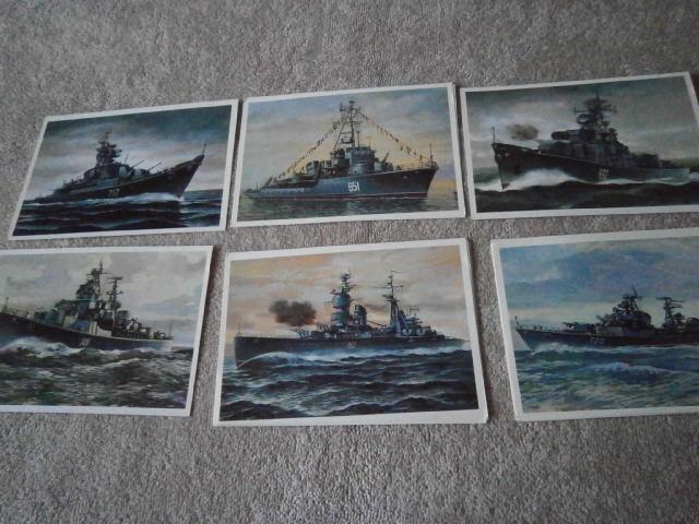 Другу, набор открыток корабли