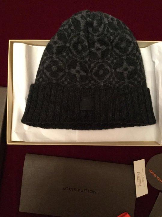 Шапка Louis Vuitton новая – купить в Москве, цена 15 000 руб ... 694d9a25964