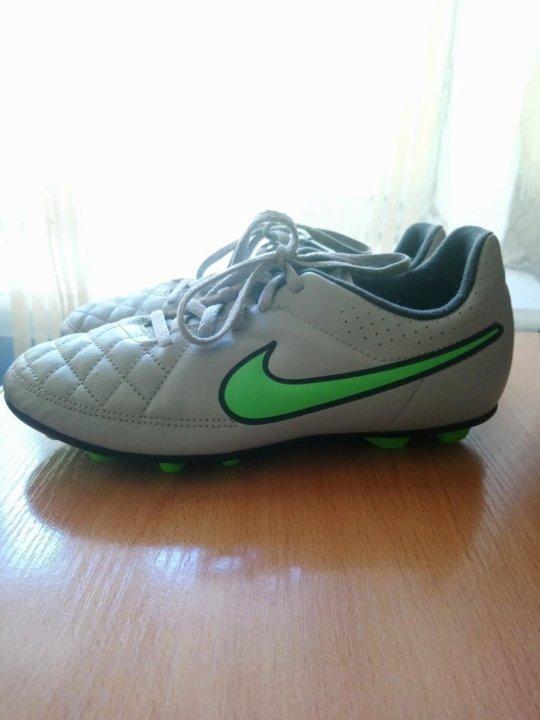 b3a2c459 Футбольные бутсы Nike Tempo – купить в Екатеринбурге, цена 500 руб ...