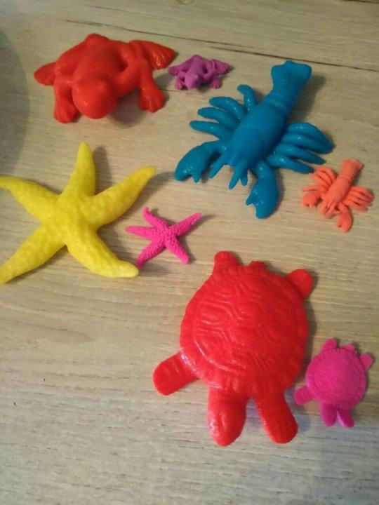 игрушки растущие в воде картинки