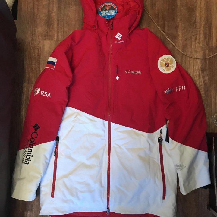 5741e4289ec1 Горнолыжная куртка Columbia Titanium, размер L – купить в Москве ...