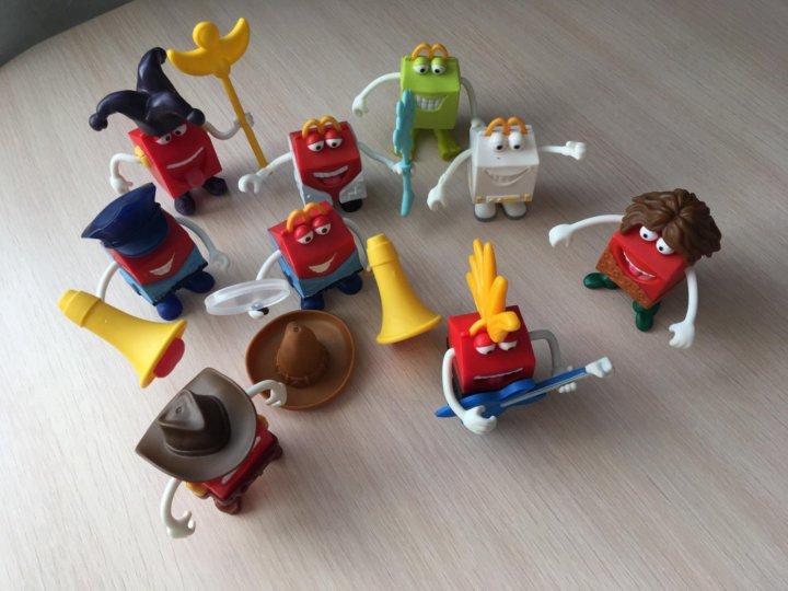картинки игрушки в макдональдсе сейчас