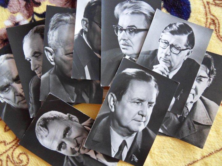 Советские писатели набор открыток