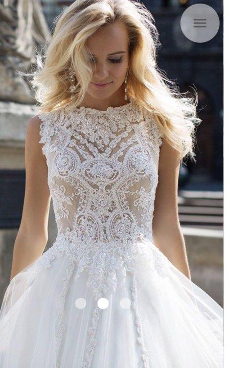 fb8f445d3bc2761 Свадебное платье Oksana Mukha – купить в Краснодаре, цена 20 000 руб ...