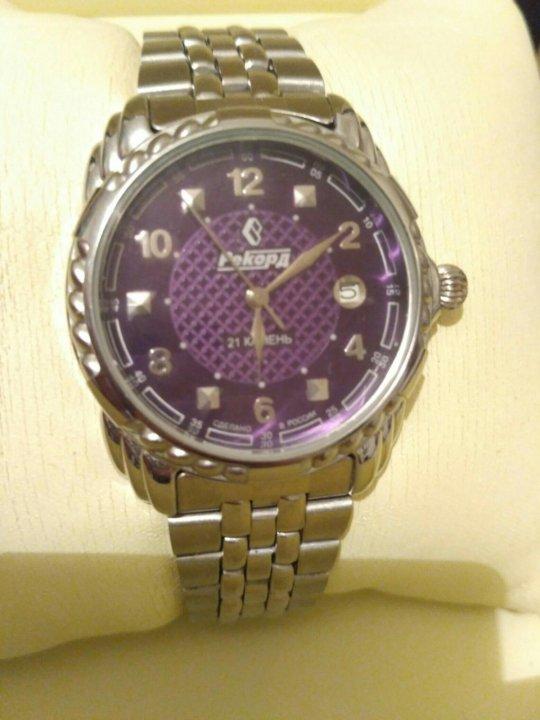 Часы наручные рекорд механические 21 камень как выбрать хорошие часы наручные мужские