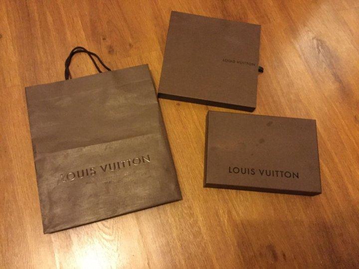 dab130d8a596 Коробки+пыльник+пакет Louis Vuitton – купить в Москве, цена 1 000 ...