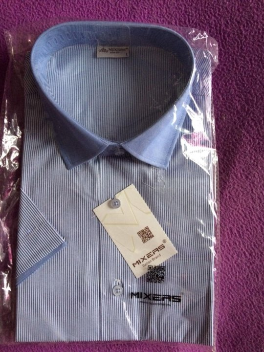 24e1e9f4970e94c Мужская рубашка Mixers – купить в Екатеринбурге, цена 400 руб ...