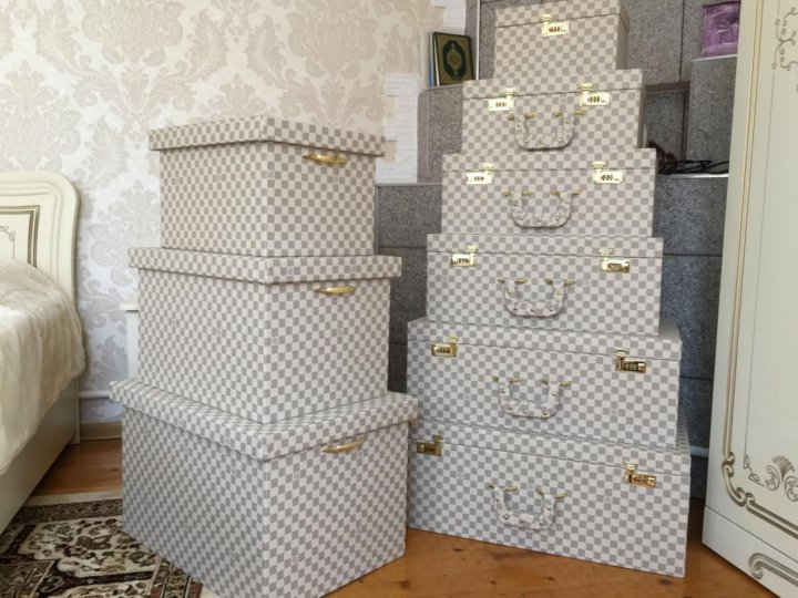 Свадебные чемоданы Louis Vuitton