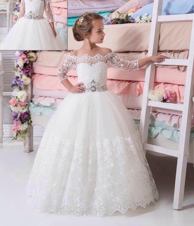 fd0b9108386 Детские нарядные платья – купить в Славянске-на-Кубани
