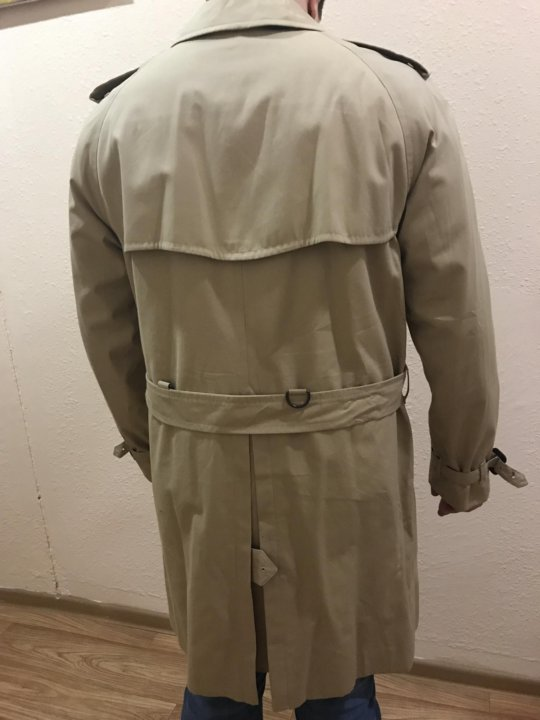 Мужской плащ пальто Burberry – купить в Москве, цена 38 100 руб ... 937d4f43bea