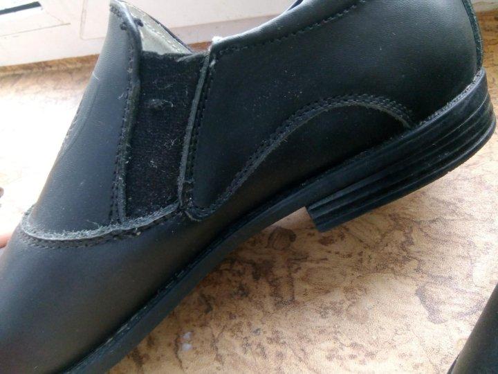 328d87971 Кожаные туфли – купить в Санкт-Петербурге, цена 650 руб., продано 22 ...