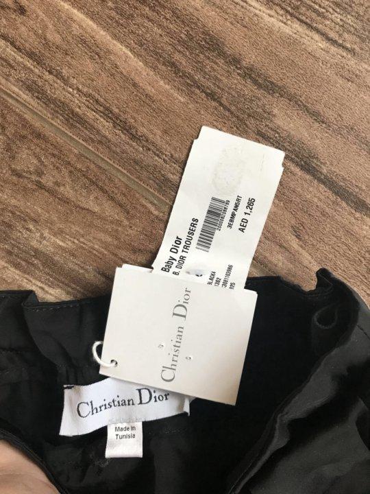 новые брюки Christian Dior на девочку 4г – купить в Симферополе ... 08eba6db028