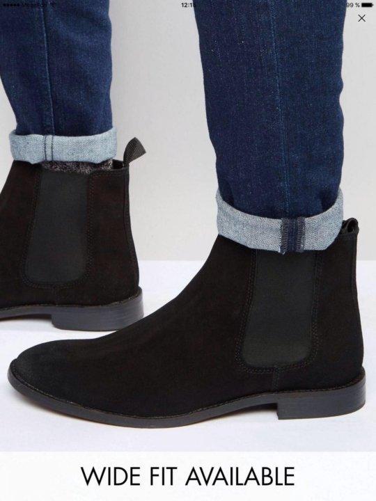 7f528373226c Мужские ботинки Челси, р-р 42-43 – купить в Омске, цена 2 500 руб ...