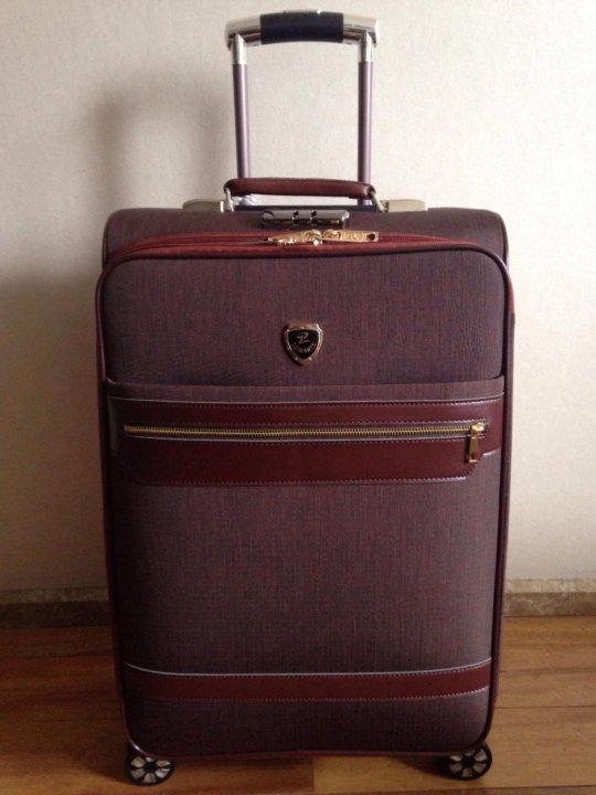 Чемодан 4колеса дублированная плащевая ткань – купить в Москве, цена ... 0210071968c